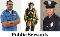 ARE YOU POLICEMAN,TEACHER, PARAMEDIC,NURSE,FIREFIGHTER~RE SAVING