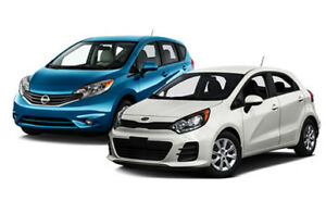 Rent Cars, SUV, Vans  from 25$/day and 172$/week  TAX INC