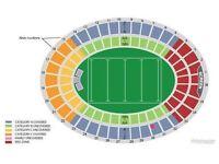 All Blacks v Lions 2nd Test. 4 x Cat A Tickets. Wellington on Saturday July 1st
