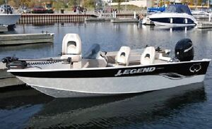 2010 Legend Xcite 16' with 50 HP Mercury 2 str *Full Equipped*