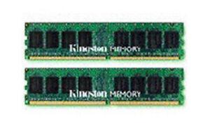 Kingston Memory KVR667D2D4P5K2/8G 8GB DDR2 SDRAM 240-pin 667MHz