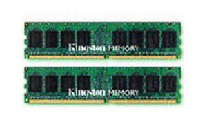 Kingston Memoire KVR667D2D4P5K2/8G 8GB DDR2 SDRAM 240-pin 667MHz