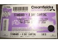 Creamfields Standard - 4 Day Camping Ticket
