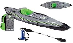 Kayak gonflable k5 quikpak sevylor