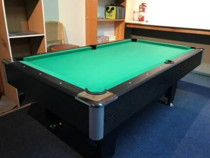 NEW PUB SIZE POOL TABLE 8FT GREEN SNOOKER BILLIARD TABLE FOR SALE | Other  Sports U0026 Fitness | Gumtree Australia Hume Area   Campbellfield | 1156934920