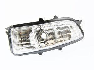 volvo c30 c70 s40 v50 s60 v70 s80 right hand mirror repeater lamp ebay. Black Bedroom Furniture Sets. Home Design Ideas