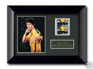 Bruce Lee Framed Film Cell, Game Of Death, Photo