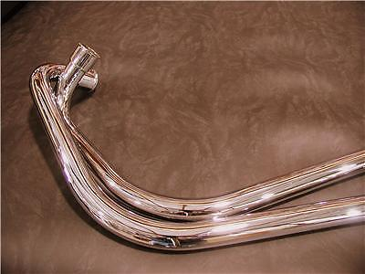 New Item!   Les Harris Norton Commando Exhaust Pipes Made in UK