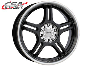 CSA-Alloy-Wheels-Bollenz-17x7-Single-Wheel-Black-M-Face