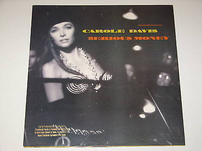 "CAROLE DAVIS serious money / slow love 12"" RECORD PROMO"
