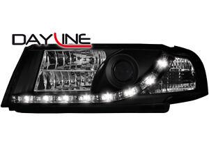 Skoda-Octavia-I-1U-DRL-LED-Headlights-Dayline-black