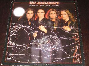 The-Runaways-rare-77-PUNK-ROCK-LP-Waitin-For-The-Night-mint-Joan-Jett