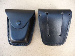 New Leather Duty Belt Pouch for Hiatt Peerless Handcuffs *