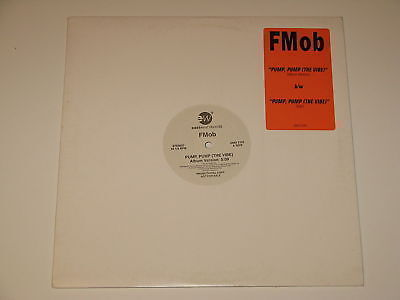 Fmob Pump Pump The Vibe 12  Record Promo Foster Mcelroy