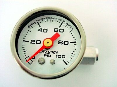 Autometer Fuel Pressure Gauge Chevy Corvette Z06 F77