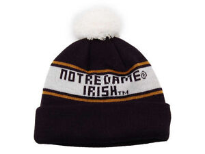 TOP-OF-THE-WORLD-NCAA-NOTRE-DAME-IRISH-POM-POM-KNIT-WINTER-HAT
