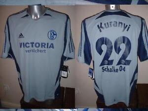 Schalke-04-Shirt-Jersey-Trikot-Adidas-BNWT-XXL-Kuranyi-Germany-Football-Soccer