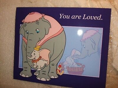 Dumbo mother YOU ARE LOVED Disney  NEW  8 x 10 Professional on Rummage