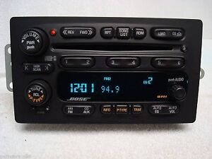 02-03-04-05-GMC-CHEVY-Envoy-Trailblazer-BOSE-Radio-6-Disc-Changer-CD-Player-OEM