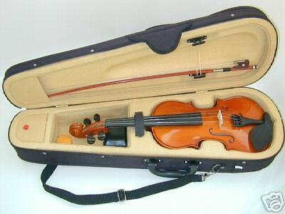 BRAND NEW Full size MAPLEWOOD & SPRUCE 4/4 VIOLIN / FIDDLE with NICE CASE & BOW on Rummage