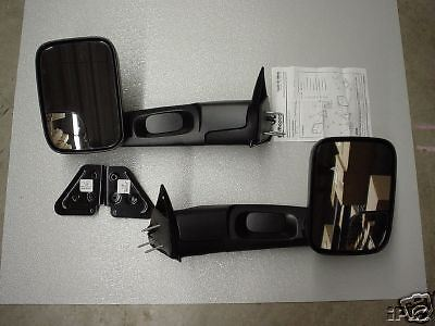 Dodge Ram Truck 1994 - 2002 Manual Trailer Tow Towing Mirrors by Mopar