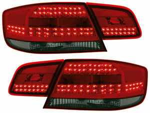BMW-E92-3-Series-Coupe-2007-2009-Dectane-LED-Smoked-Tinted-Taillight-Set-4-NEW