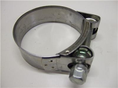 SUZUKI BANDIT GSF650 STAINLESS STEEL EXHAUST CLAMP