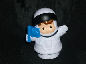 Fisher Price Little People Space Astronaut Boy Flag New | eBay