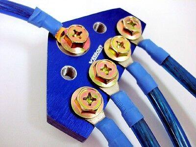 Subaru Impreza 10mm Vision Ground Wire System Kit Blue