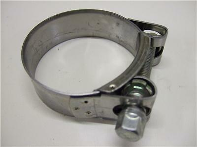 SUZUKI BANDIT GSF600 NEW STAINLESS STEEL EXHAUST CLAMP