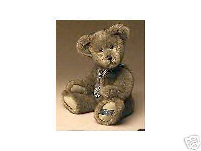 "Boyds 25th Silver Anniversary Plush Bear ""Sterling"""
