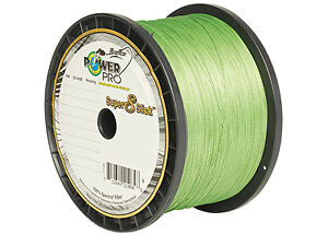 Power Pro Super 8 Slick Braided Fishing Line 15 Lb 300 Yd Aqua Green