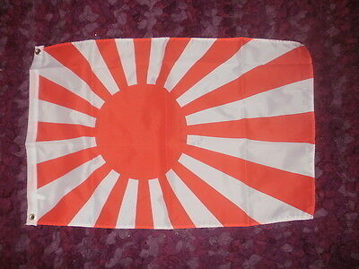 Japanese Rising Sun Flag 2x3 WW2 Military World war Two Nippon Imperial Army bn