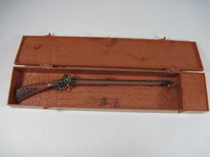 Marx miniature the kentucky flintlock long rifle w plastic for Wrap master model 1500
