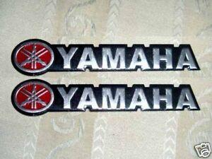 Yamaha Aluminium Emblem Badge Stickers Vstar R1 R6 YZF