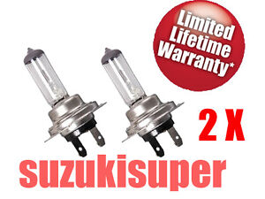 2 H7 HID Halogen Auto Car Head Light Bulbs Lamp