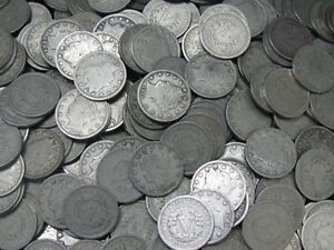 Old-Liberty-Nickel-Coin-Lot-Full-Date-20-Coins-Good-Or-Better-United-States-Mint