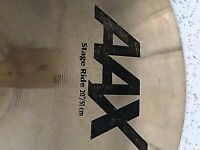 Sabian Raw Bell Dry Ride or stage ride Cymbal