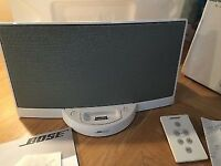 Bose unit with bluetooth & remote control