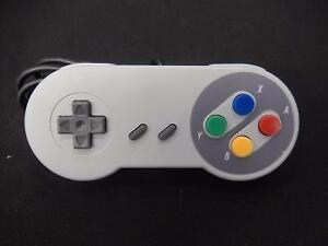 Manette USB Super Nintendo RASPBERRY / Model SNES (i017764 / i017765)