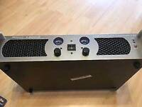 dj amp and speakers