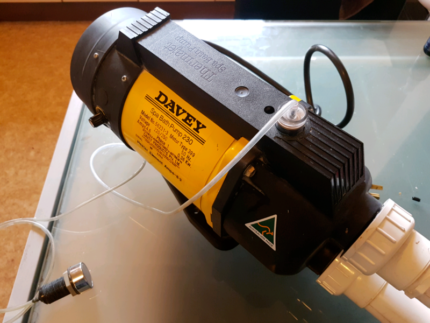 Davey Spa Pump Thermajet with Heater Model 230 with heater switch