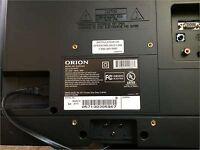 Orion SLED1945 720P 60Hz LED LCD HDTV HD