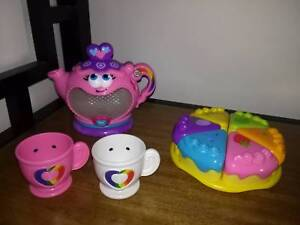Leap Frog Rainbow Tea Set - Great Condition - Batteries Included New Farm Brisbane North East Preview
