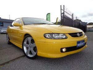 2004 Holden Monaro Series III CV8 Yellow 4 Speed Automatic Coupe Pooraka Salisbury Area Preview