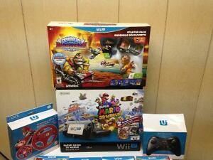 Wii U Deluxes and MORE!! PACKAGE DEAL