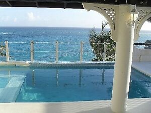 Barbados Romantic Caribbean Villa on cliff ,Breathtaking view