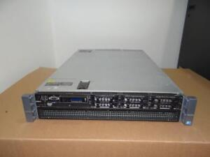 Dell PowerEdge R810 Server 4x Xeon 10 Core 2.40GHz (E7-4870) 256GB RAM 40-CORES 6X600GB SAS