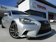 2014 Lexus IS350 GSE31R F Sport Silver 8 Speed Automatic Sedan Greenway Tuggeranong Preview