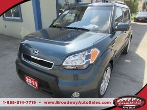2011 Kia Soul FUEL EFFICIENT '4U - MODEL' 5 PASSENGER HEATED SEA